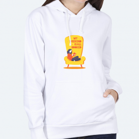 Booked For The Weekend! BaeLolly Women's Hoodie