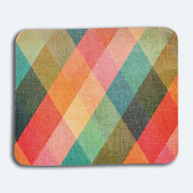 Colorful Diamonds BaeLolly Mouse Pad