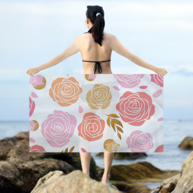 Beauty of the roses Intricate Dobby Emma Sarong