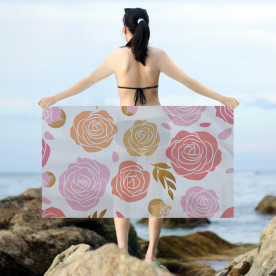 Beauty of the roses Twill Ashley Sarong