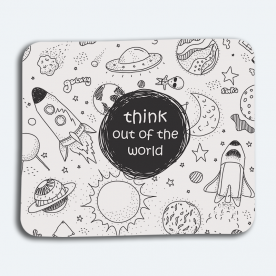 Think Out of The World! BaeLolly Mouse Pad