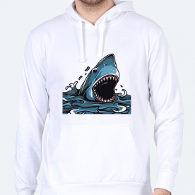 Whale BaeLolly Men's Hoodie