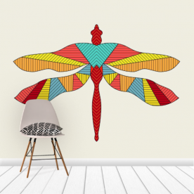 Fire-fly Canvas Wall Mural