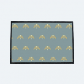 Geometric flower Outdoor Mat