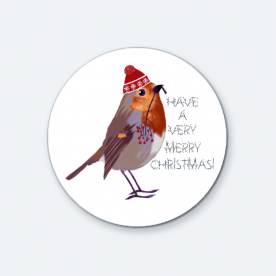 Have a very merry Christmas! BaeLolly Round Button Badge Pack Of 4