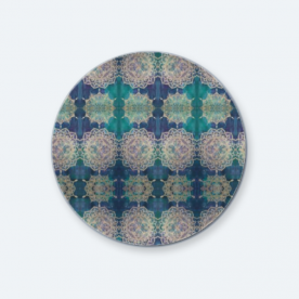 Mandalas in Dubai BaeLolly Round Button Badge Pack Of 4