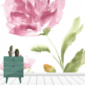 Summer in the Meadow Collection Leatherette Eco Wall Mural