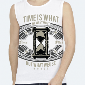 Time BaeLolly Unisex All Over Printed Vest