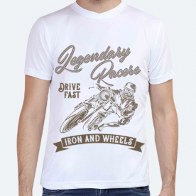 Iron and Wheels BaeLolly Unisex All Over Printed T-shirt