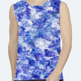 *InThaWeeds* (TYEDYE) BaeLolly Unisex All Over Printed Vest