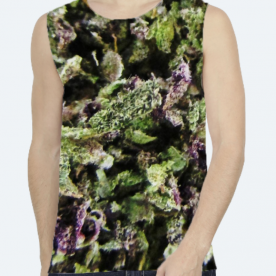 *InThaWeeds* (PRISTINE) BaeLolly Unisex All Over Printed Vest