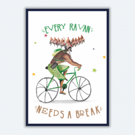 Everyone needs a Break BaeLolly A4 Poster Frame