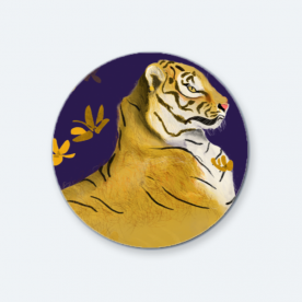 Go LSU Tigers BaeLolly Round Button Badge Pack Of 4