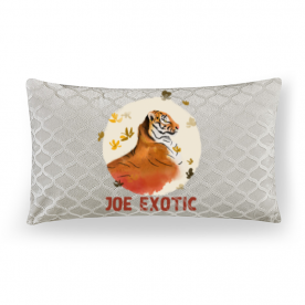 Jeo Exotic Lumbar Embossed Velvet Throw Pillow Without Insert