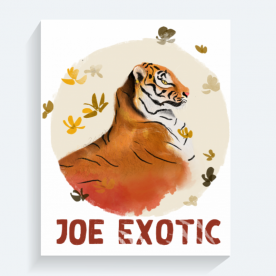 Jeo Exotic BaeLolly Rectangle Canvas Frame