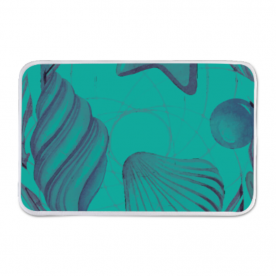 By the sea shower mat Indoor Fleece Mat