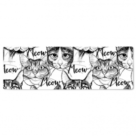 Head-cute-cats-graphic by LiliSavelieva Ava Canvas Table Runner