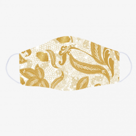 Golden lace BaeLolly Emma Face Mask