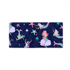Magical mermaids Naomi Small Canvas Bed Runner