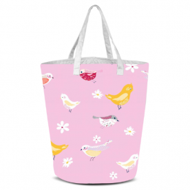 bird pattern-01 Laila All Over Print Laundry Bag