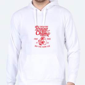 Boxing Champ BaeLolly Men's Hoodie