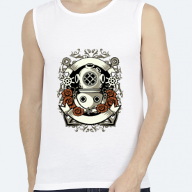 Diver BaeLolly Unisex All Over Printed Vest