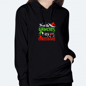 Drink Up, Grinch BaeLolly Women's Hoodie