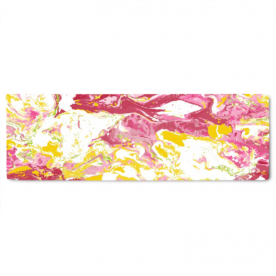 colorful marble-01 Layla Gold Jacquard Table Runner
