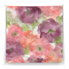 WoodlandSoulWildRoses Polly Striped Wall Tapestry