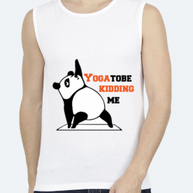 PANDA YOU GOTTA TO BE KIDDING ME YOGA PUN BaeLolly Unisex All Over Printed Vest