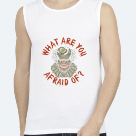 What are you afraid of? BaeLolly Unisex All Over Printed Vest