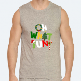 Oh what fun? BaeLolly Men's Athlectic Vest