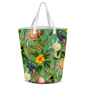 Colorful  Parrot Woodland Soul Collection Laila All Over Print Laundry Bag