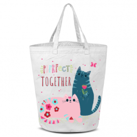 Purrfect Laila All Over Print Laundry Bag