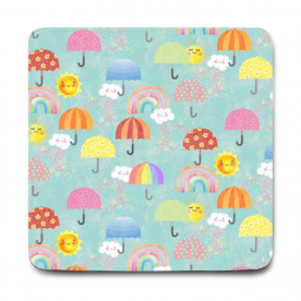 Sunshine and rainy days Rozzby Foam Mouse Pad