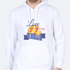 Love At First Bite BaeLolly Men's Hoodie