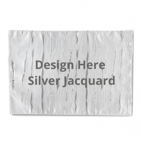 Engray Silver Jacquard Placemats