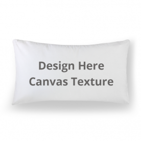 Lumbar Canvas Throw Pillow Without Insert