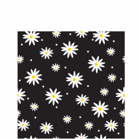 daisies-01 Laila All Over Print Laundry Bag