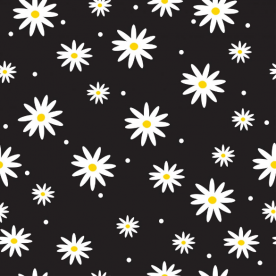 daisies-01 Naomi Large Canvas Bed Runner