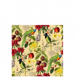 Colourful Bird Woodland Soul Collection Laila All Over Print Laundry Bag
