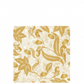 Golden lace Laila All Over Print Laundry Bag