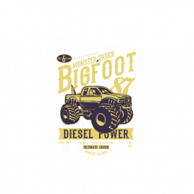 Big Foot2 BaeLolly Unisex All Over Printed T-shirt