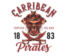 Carribean Pirates2 BaeLolly Men's Hoodie