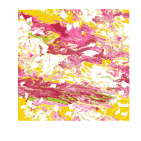 colorful marble-01 BaeLolly Emma Face Mask